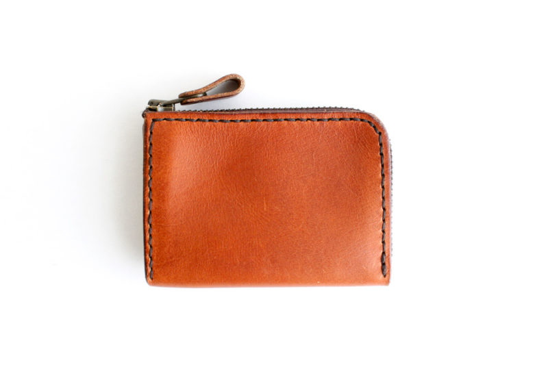 Zipper Pouch - Chestnut